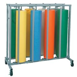 Eight-Roll Vertical Paper Rack