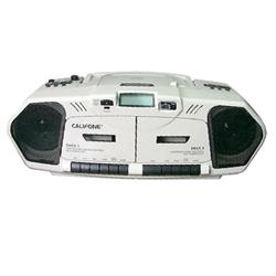 Califone® Music Maker™ Plus CD/Dual Cassette Player/Recorder