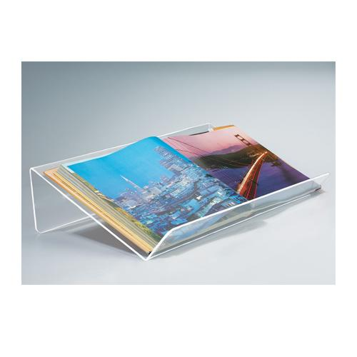 Deluxe Acrylic Oversize Book Displayers with Lip