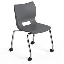 Smith System Plato Mobile Stacking Chair
