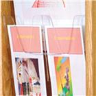 Image of Wooden Mallet Snap-In Divider for Literature Displayers