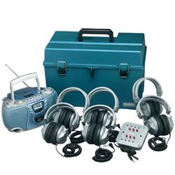 Hamilton/Buhl™ CD/Tape/Radio Listening Center with Personal Earcup Headphones