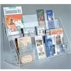 "Image of 27 1/2""W Three-Tier Acrylic Display Rack"