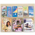 Image of Safco Products Clear 2C Economy 9-Magazine Displayer