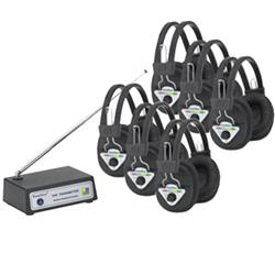 Hamilton/Buhl™ Multi-Channel Wireless System with Six Headsets