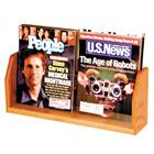 Image of Wooden Mallet Countertop Magazine Stand