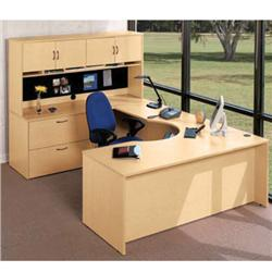 HPFI Credenzas for Hyperwork Executive U Corner Desk Units