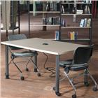 Image of Brodart Solutions Maple Mobile Reading Tables