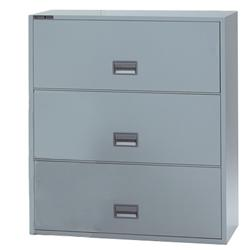 "SentrySafe Three-Drawer Fire- and Impact-Rated 36""W Lateral File"