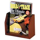 Image of Wooden Mallet One-Magazine Acrylic Displayer