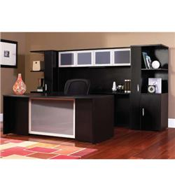 HPFI Hyperwork Bow Front Executive Desk