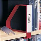 Image of Gressco Clip-On Bookend/Label Holder with Cork Base
