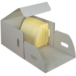 End Tab File Folder Storage Boxes