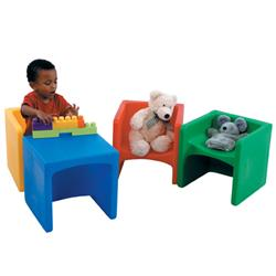 The Children's Factory Chair Cubes