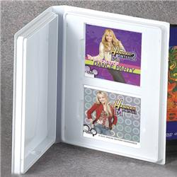 Dual Jewel Case Storage Album with Literature Well and Open Spine