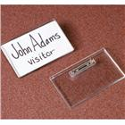Image of Clear Acrylic Name Badge Holders