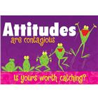 Image of Trend Enterprises Attitudes Are Contagious... Poster