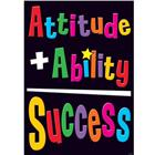 Image of Trend Enterprises Attitude + Ability... Poster
