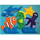 Image of Loveable Creations® Soft Fabric Wall Decorations - Ocean Theme