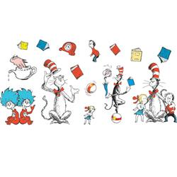 Eureka® The Cat in the Hat™ Characters Bulletin Board Set