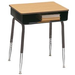 Scholar Craft™ Student Desk with Solid Plastic Top