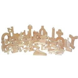 Wood Designs™ Hardwood Blocks Kindergarten Set