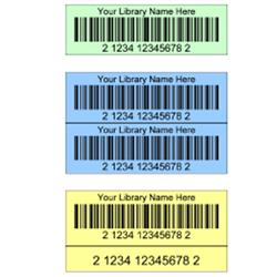 Data2™ Colored Digital Bar Code Labels