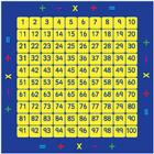 Image of Kalokids™ 100-Square Counting Grid Carpet