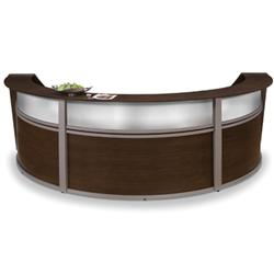 OFM Marque Triple Unit Plexi Reception Desk