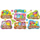 Image of Trend Enterprises Owl-Stars!™ Study Habits Bulletin Board Set