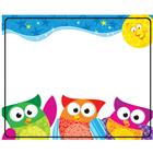 Image of Trend Enterprises Owl-Stars!™ Name Tags
