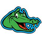 Image of Easy-Stick Gator Wall Art