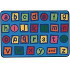 Image of Carpets for Kids® Kid$ Value Rugs™ Alphabet Blocks