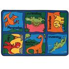 Image of Carpets for Kids® Kid$ Value Rugs™ Dino-Mite
