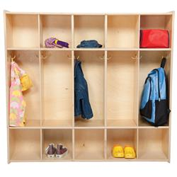 Wood Designs™ Contender™ Five-Section Locker