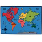 Image of Carpets for Kids® World Map Value Rug