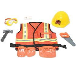 Melissa & Doug Construction Worker Role Play Costume
