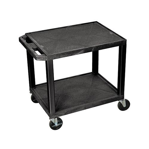 "Luxor® Tuffy™  26""H Equipment Cart"
