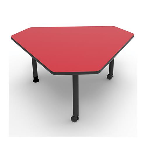 Brodart Triangular Mobile Table