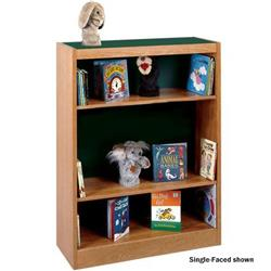 Classic Oak Double-Faced Laminate Top Shelving