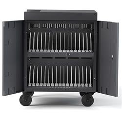 Bretford 32 Capacity CUBE™ Cart w/Back Panel