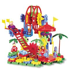 Learning Resources Gears! Gears! Gears!® Dizzy Fun Land™ Motorized Gears Set