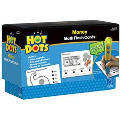 Hot Dots Money Flash Cards (For Ages 6-8)