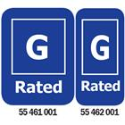 Image of G-Rated Media Rating Labels