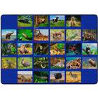 Image of Flagship Carpets Photo-Fun™ Alphabet Animals Carpets