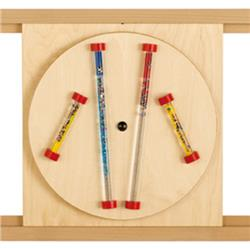 HABA Glitter Rods Sensory Wall Activity Panel