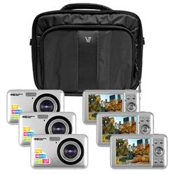 Hamilton Buhl 12MP Digital Camera Classroom Pack (6 Pack)