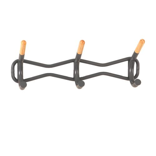 Safco Products Coat Wall Rack 3-Hook