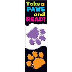 Take A Paws to Read Bookmark