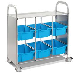 Gratnells Callero Storage Cart with Deep Trays (6)